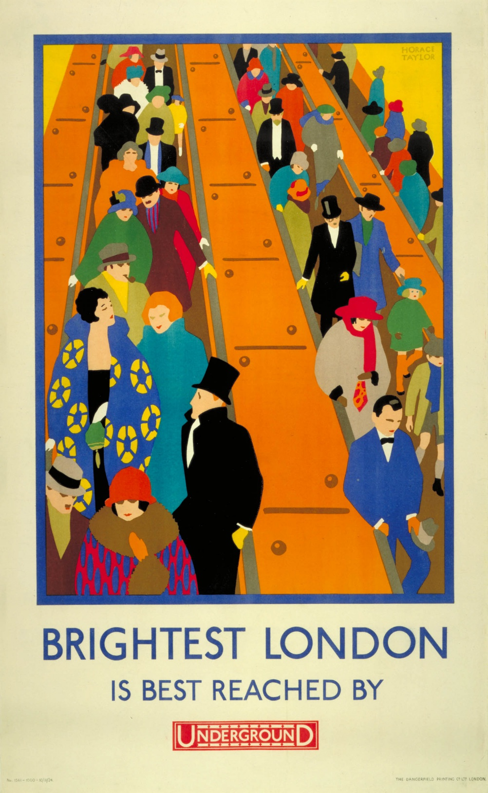Brightest London, by Horace Taylor