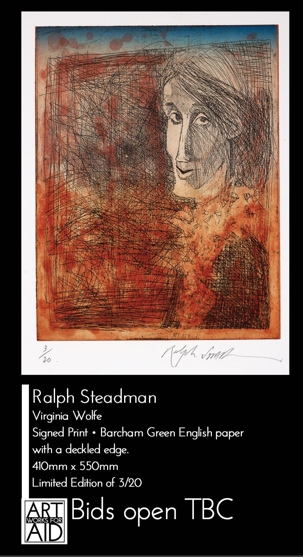 © Ralph Steadman - Virginia Woolf
