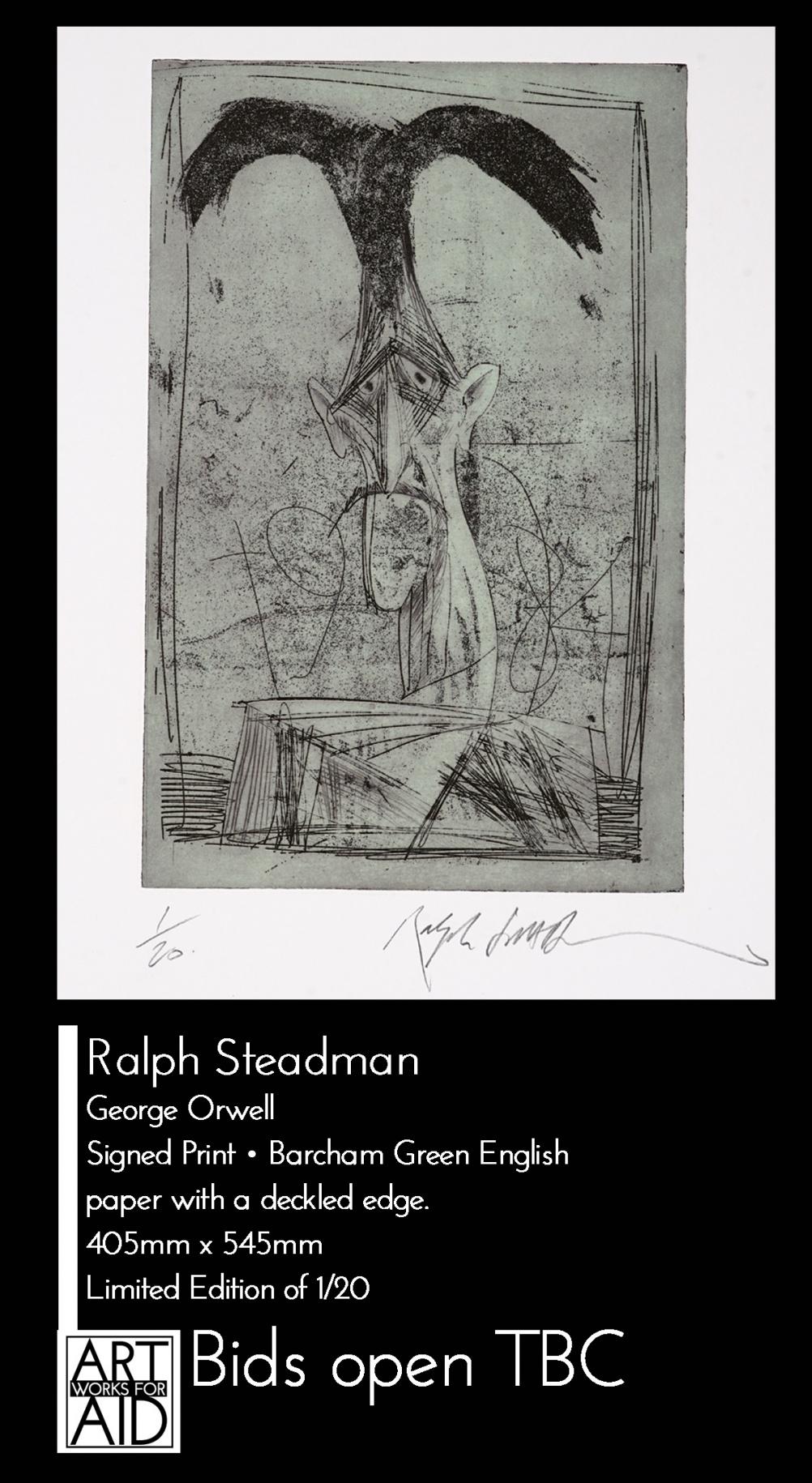 © Ralph Steadman - George Orwell
