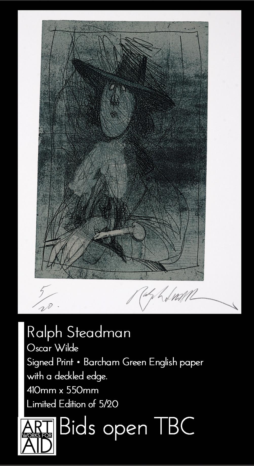 © Ralph Steadman - Oscar Wilde