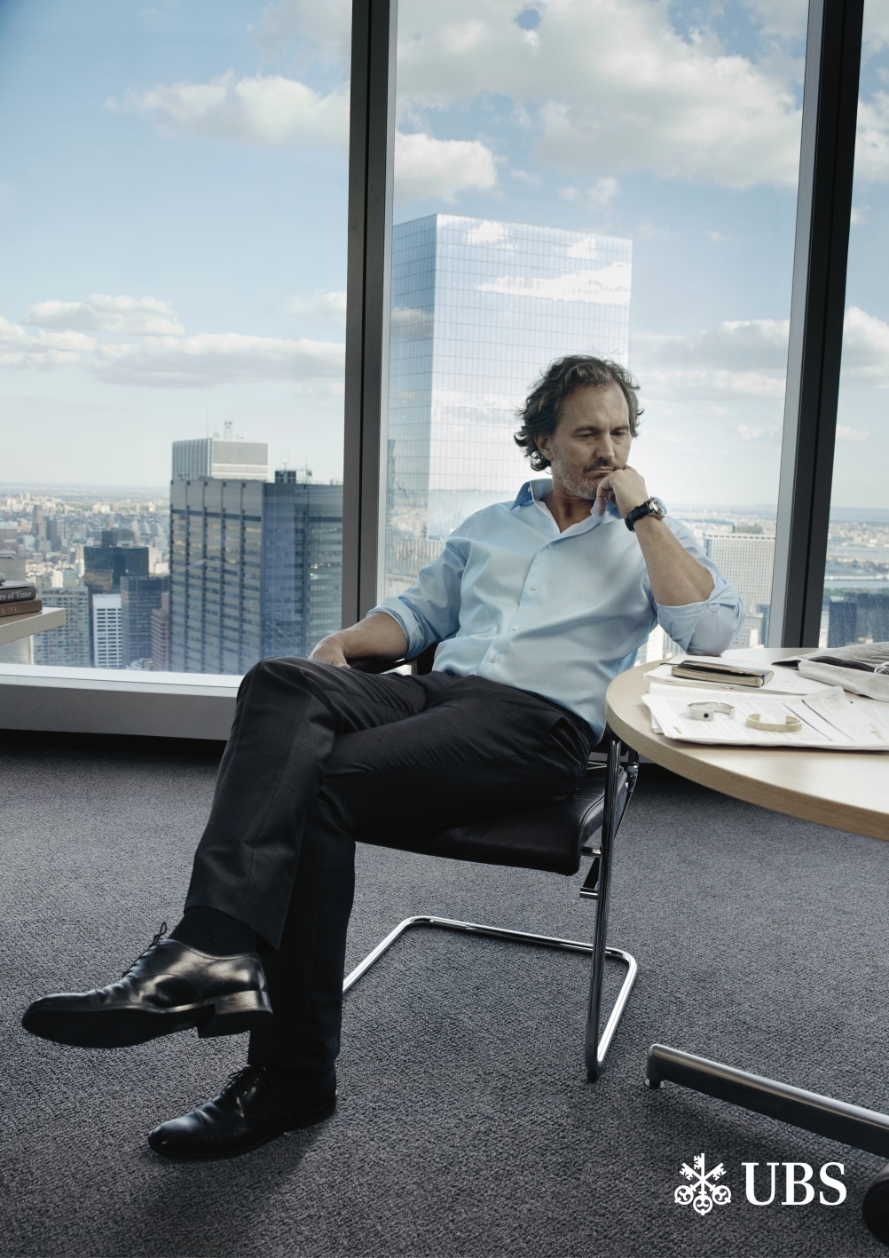 Campaign photography by Annie Leibovitz for the new UBS global brand campaign. © Annie Leibovitz.