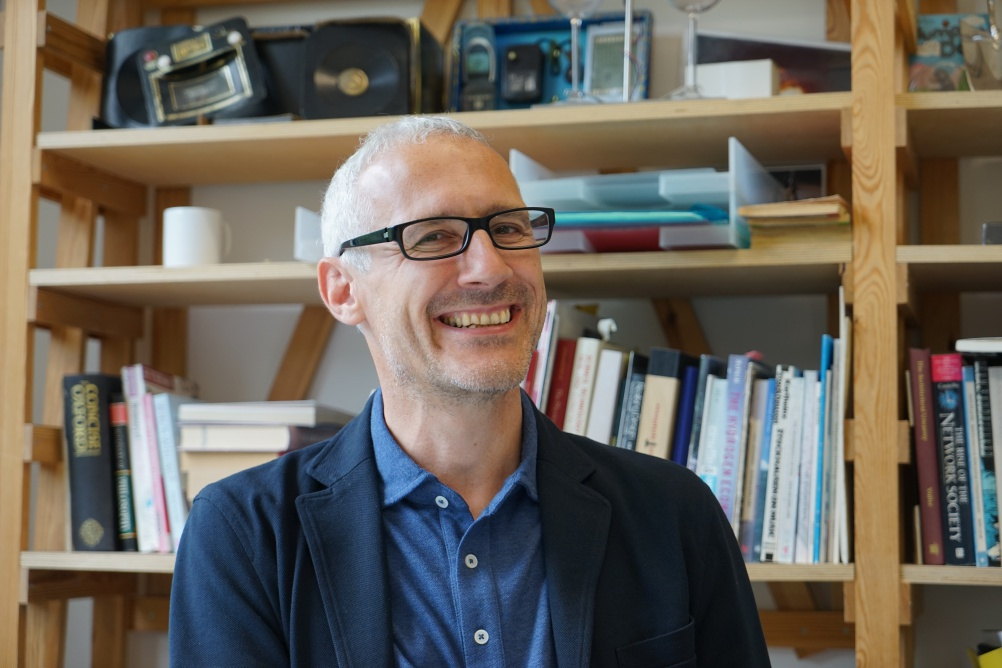 Design Interactions co-founder Anthony Dunne, who stood down earlier this year. Image courtesy of RCA