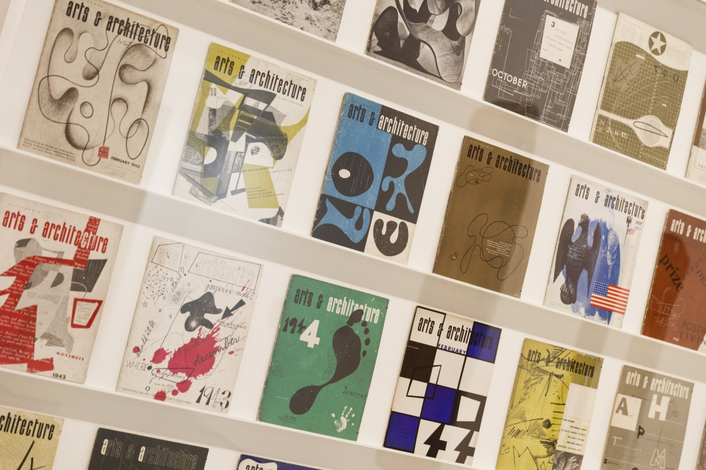 Arts & Architecture magazine covers designed by Ray Eames