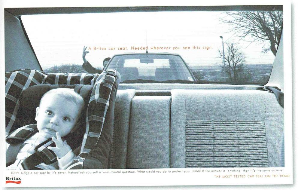 Britax ad, by Barrett Cernis