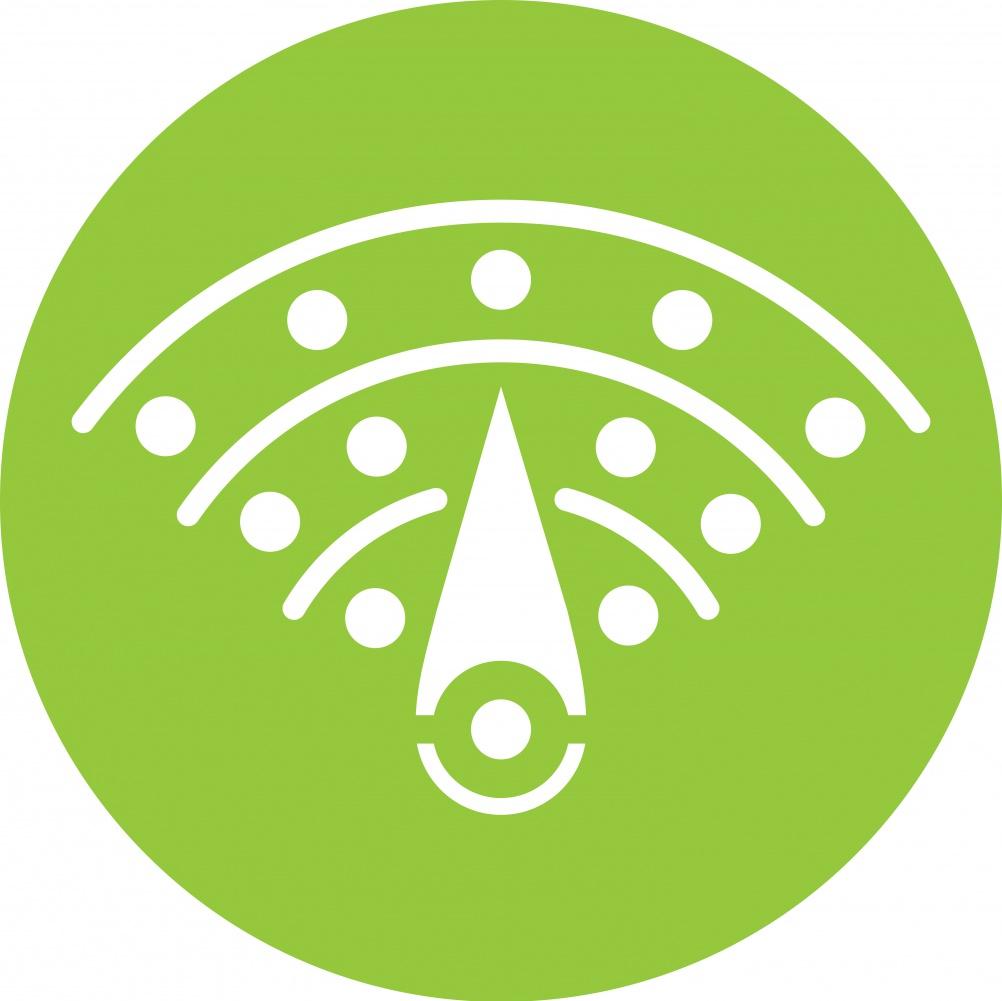 Digial Park logo -white+green