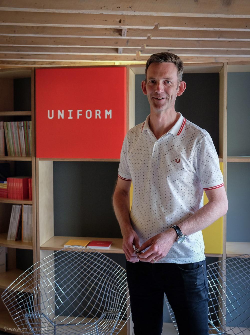 Ken Dixon, head of brand strategy, Uniform