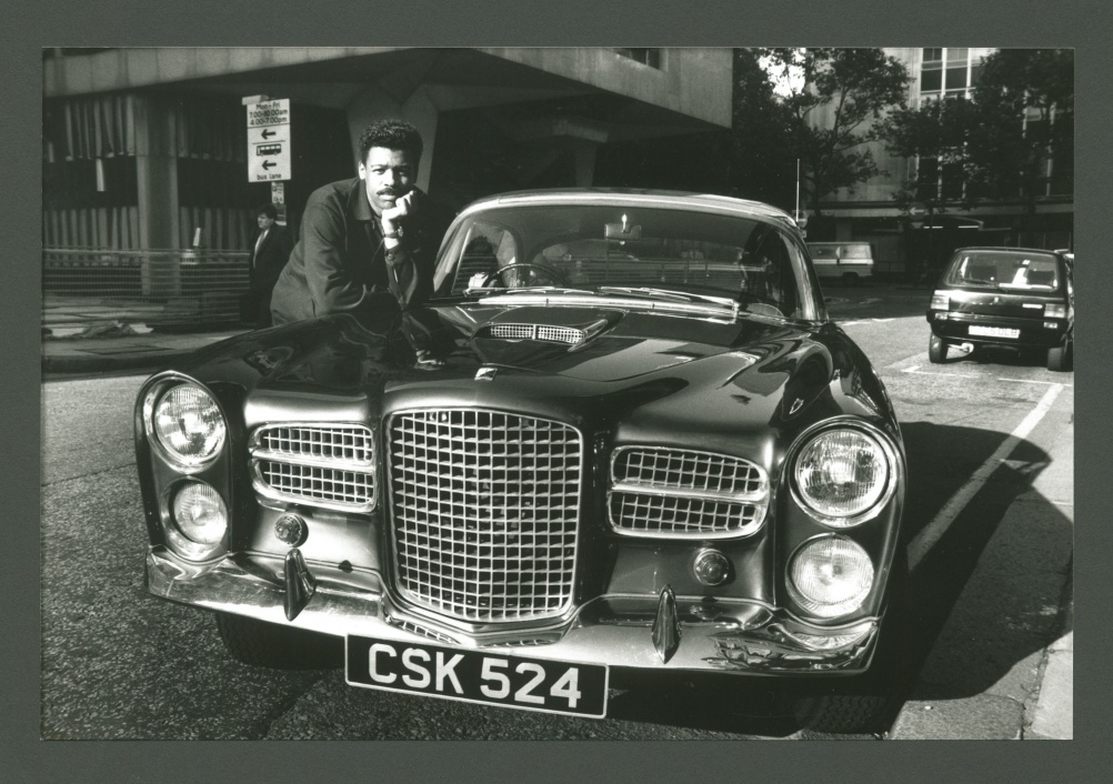 Ray Barrett in 1983. Photograph by Keith McMillan. Image from Campaign Photographic Archive at The History of Advertising Trust