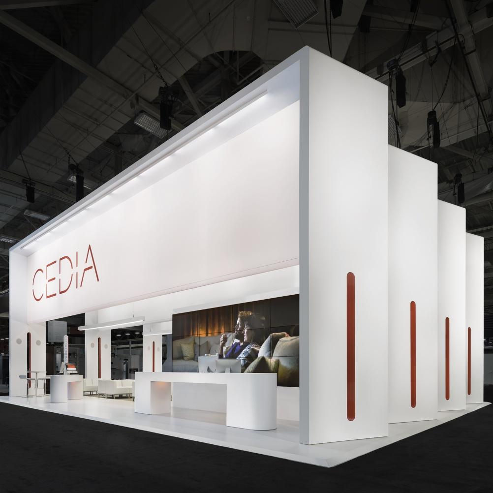 Exhibition Booth Furniture : Cedia exhibition by lorenzo apicella