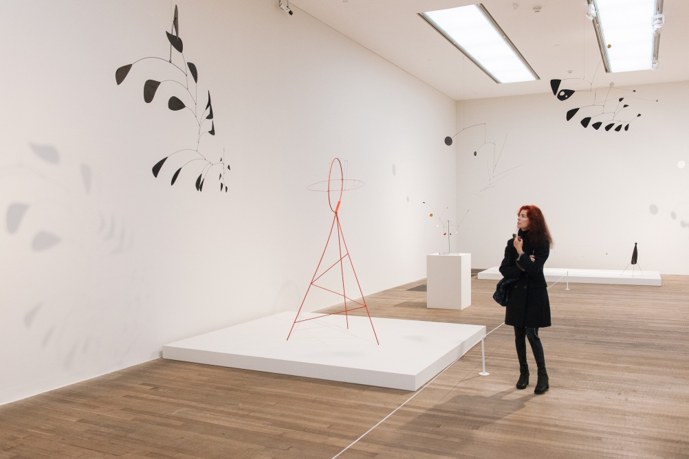 Calder's mobiles and stabiles