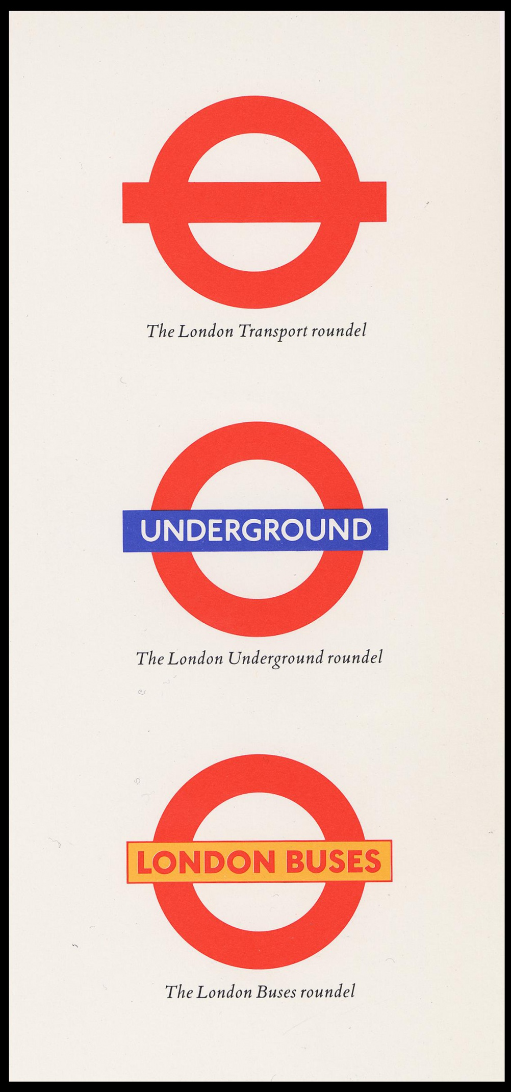 Poster design london - Roundel Now 2002