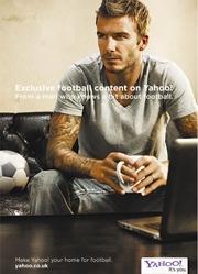 Yahoo!'s David Beckham campaign