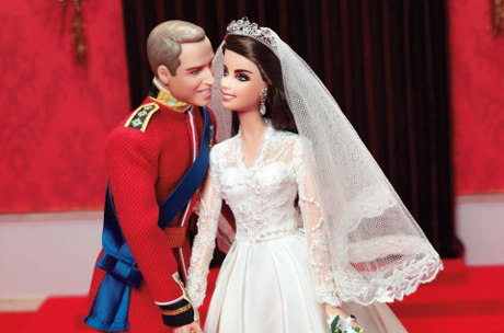 Will and Kate Barbie