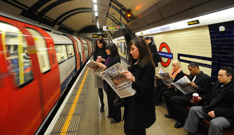 tube newspaper