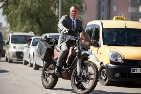 Honda and James Bond
