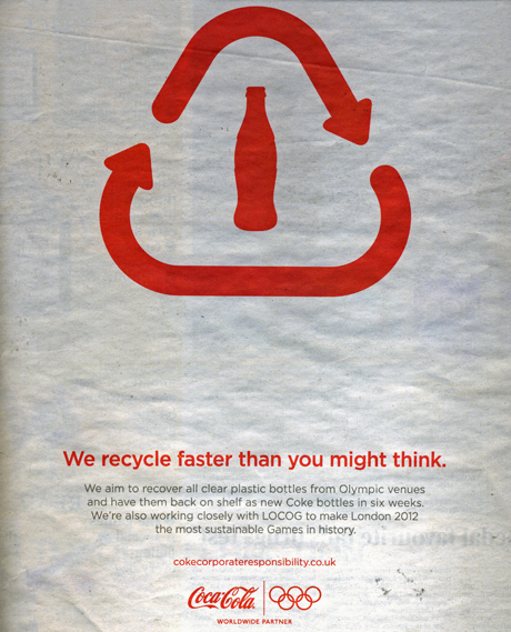 Coca Cola CSR ad