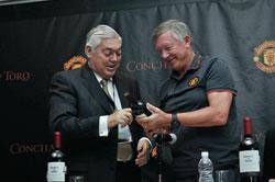 Wine and football