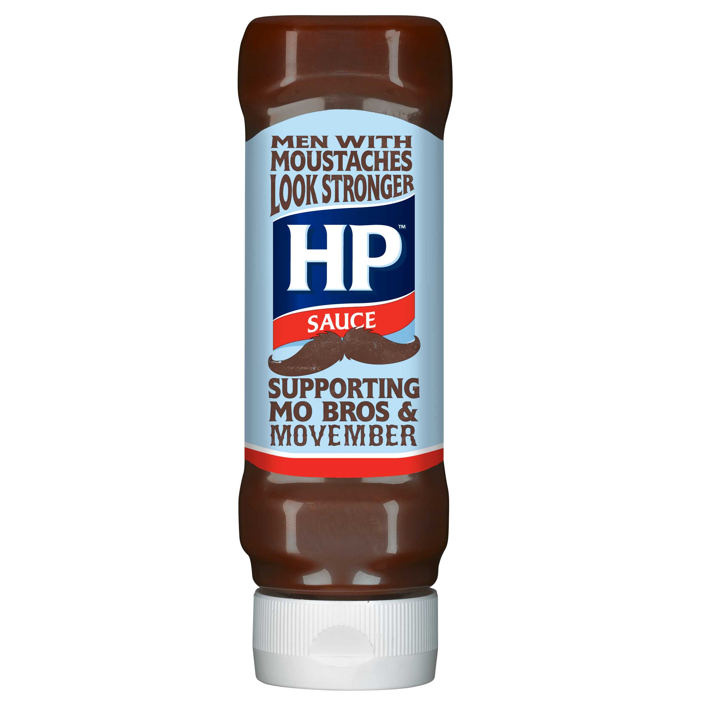 HP Movember bottle