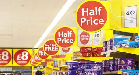 Supermarket promotions