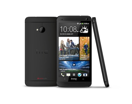 The new HTC One phone.