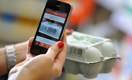 Sainsbury's launches in-store shopping app