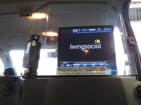 Living Social VeriFone Taxi