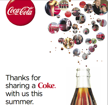 Coke Thank You Share A Coke