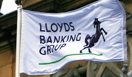 Lloyds Banking Group flag