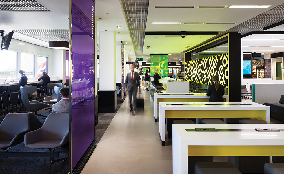 Bloomberg hub lounge