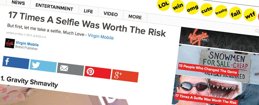 Last month, BuzzFeed changed the labels on its sponsored pages to ensure that branded content is signposted with greater clarity