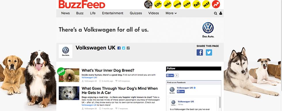 Buzzfeed Volkswagen