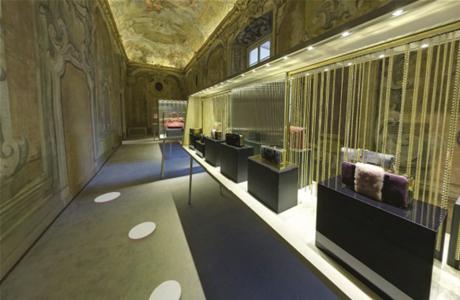 Jimmy Choo showroom