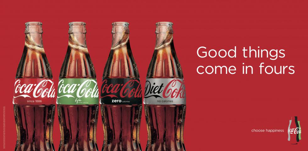 Coke fours