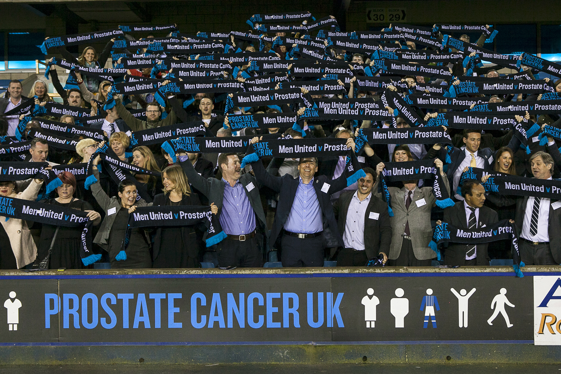 Prostate Cancer UK's Men United campaign is a good example of resourceful marketing