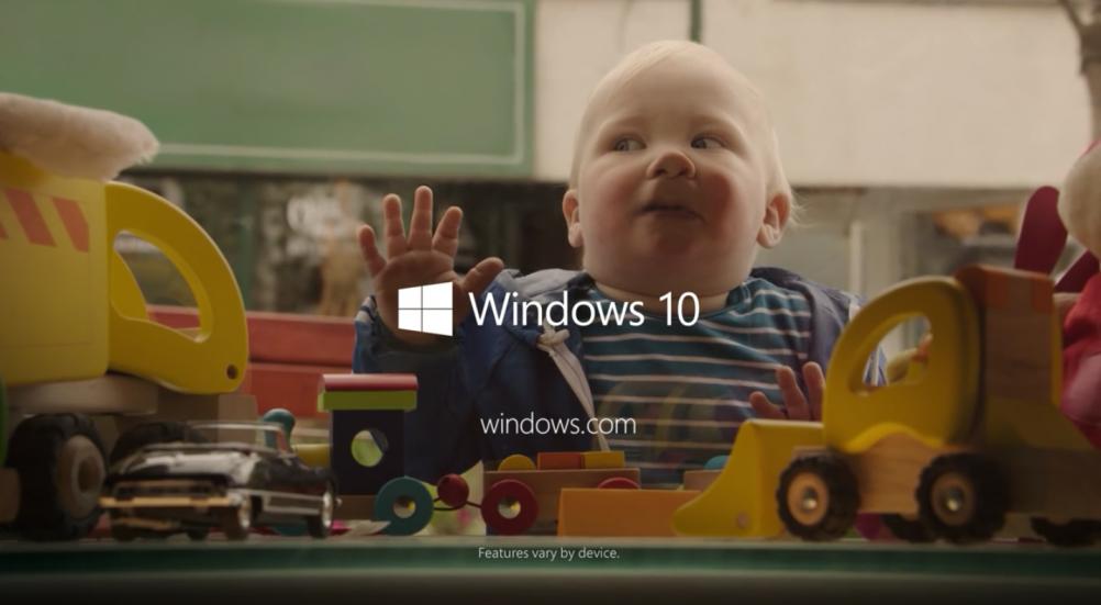 Windows-10-Advert-baby-2015