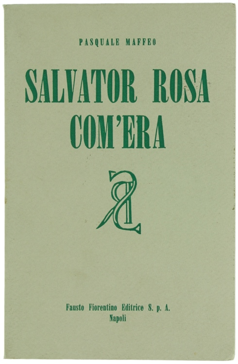 SALVATOR ROSA COM'ERA