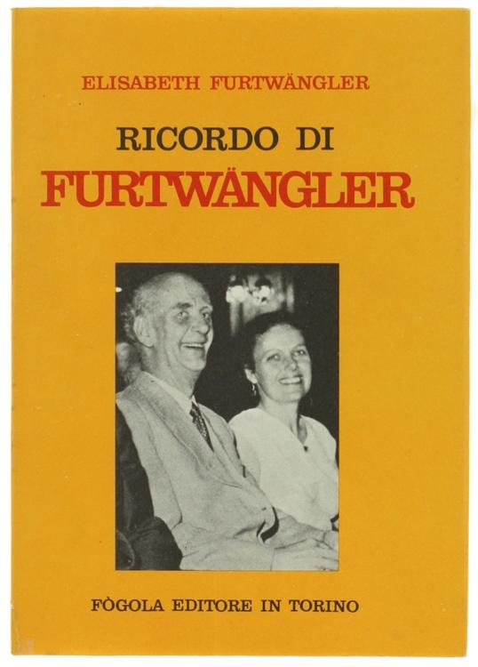 RICORDO DI FURTWANGLER.