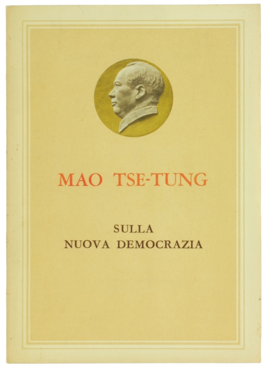 MAO TSE-TUNG: Rapporto alla seconda sessione plenaria del settimo comitato centrale del Partito Comunista cinese