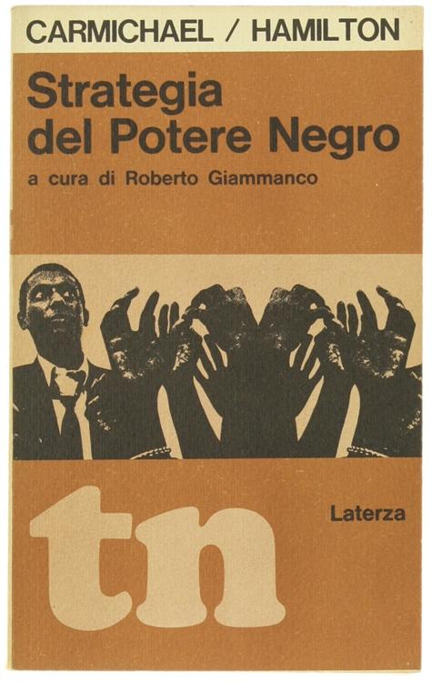 STRATEGIA DEL POTERE NEGRO. A cura di Roberto Giammarco.