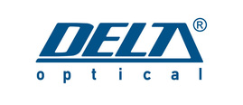 Logo delta optical blue