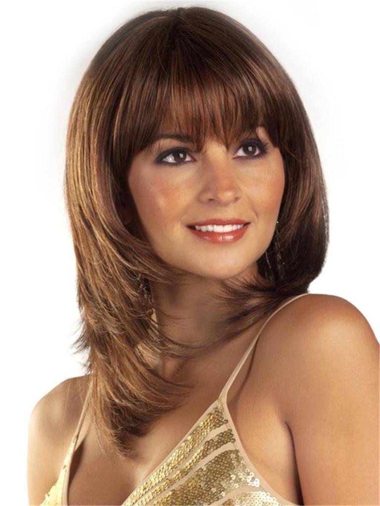 Стрижка волос на средние волосы для женщин