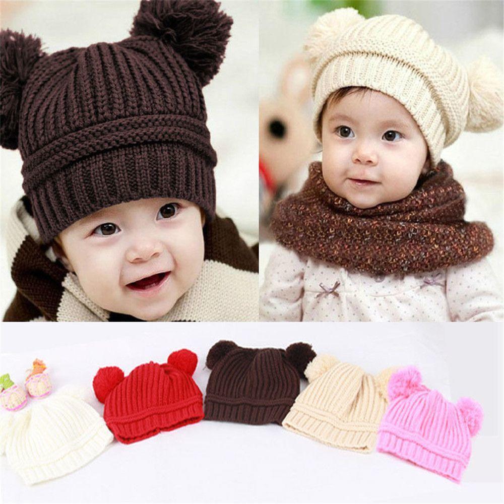 Вязание шапка бини для детей