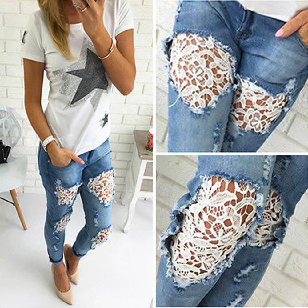 Как сделать модные дырки на джинсах в домашних 551