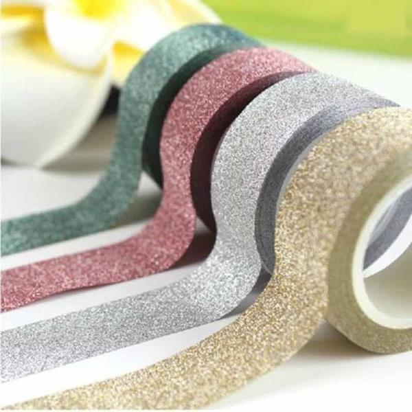 Липкой бумаги васи 5м блеск маскируя клейкая лента этикетка DIY ремесло декоративные - Joom