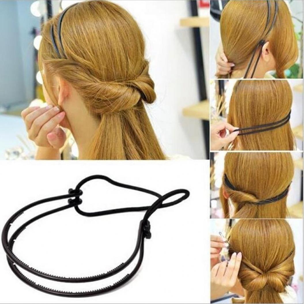 Греческая причёска с резинкой только без резинки