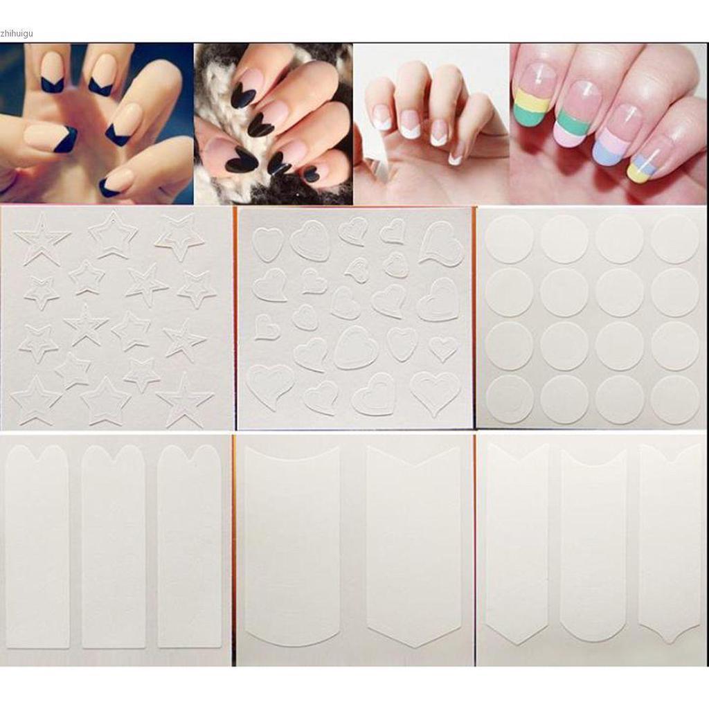Идеальные ногти : трафареты для 95