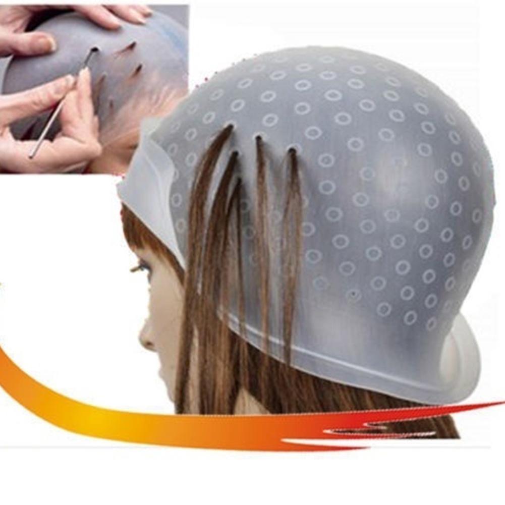 Как сделать шапочку для мелирования из пакет