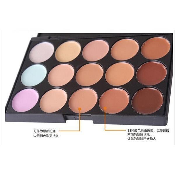 Палитра для макияжа 15 цветов как пользоваться