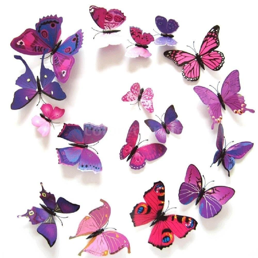 Дизайн из бабочек