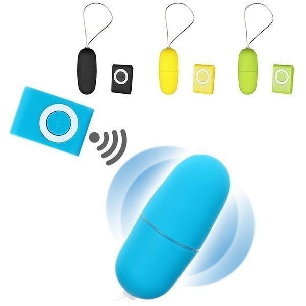 Wireless remote egg vibrator