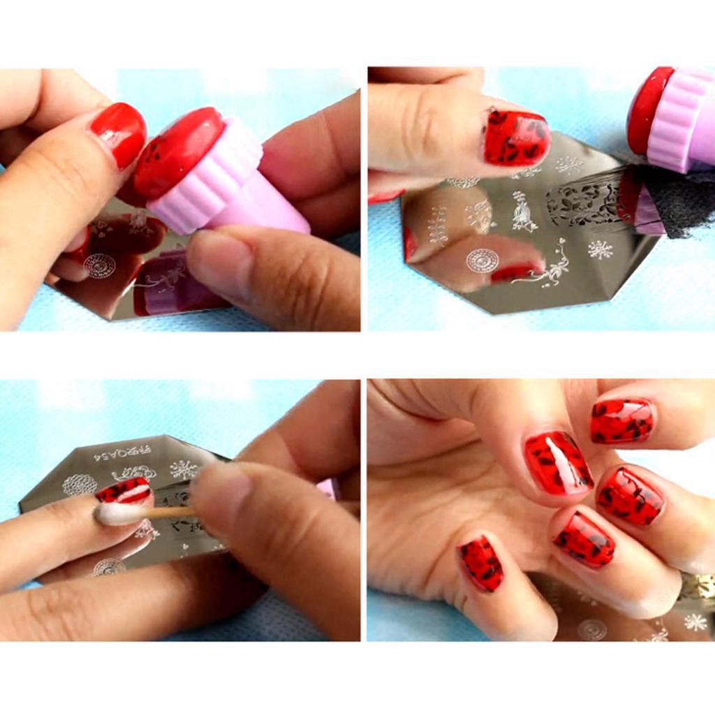 С чего сделать трафарет для ногтей своими руками